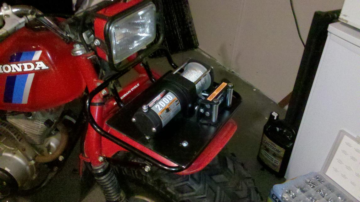 Polaris ATV Winch Installation