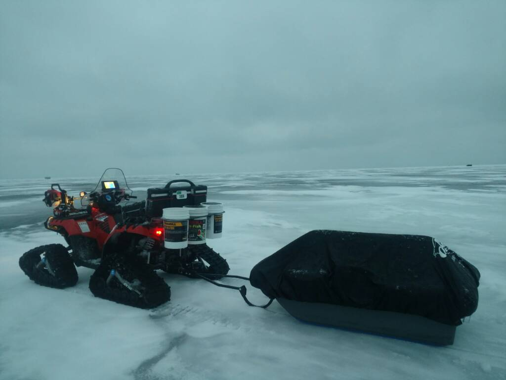 Ice fishing xp is done maybe polaris atv forum for Ice fishing forum