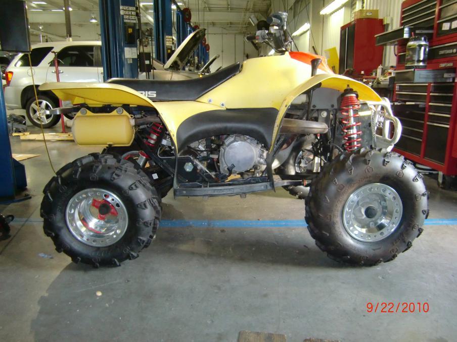 Scrambler 500 4x4 rear hubs swap - Page 2 - Polaris ATV Forum