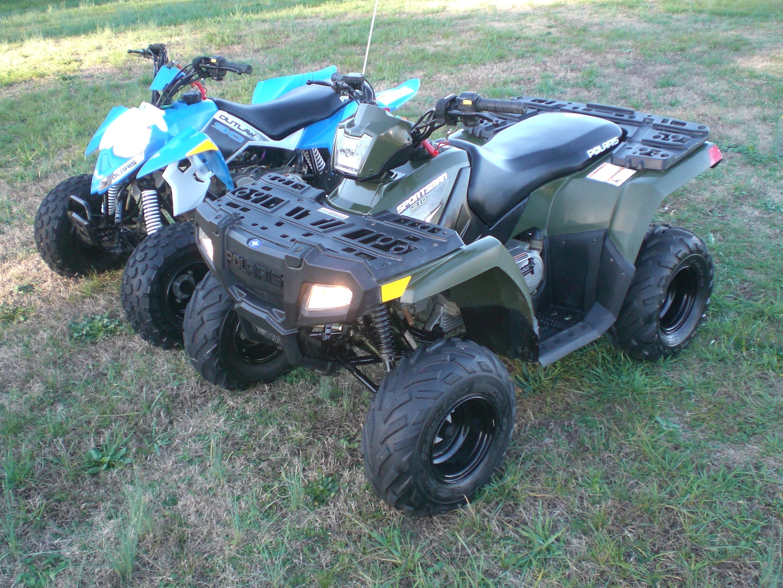 Honda Atvs For Sale Raleigh Nc >> TWO 2014 Polaris 90cc ATVs - 14 Sportsman 90 & 14 Outlaw 90 - Polaris ATV Forum