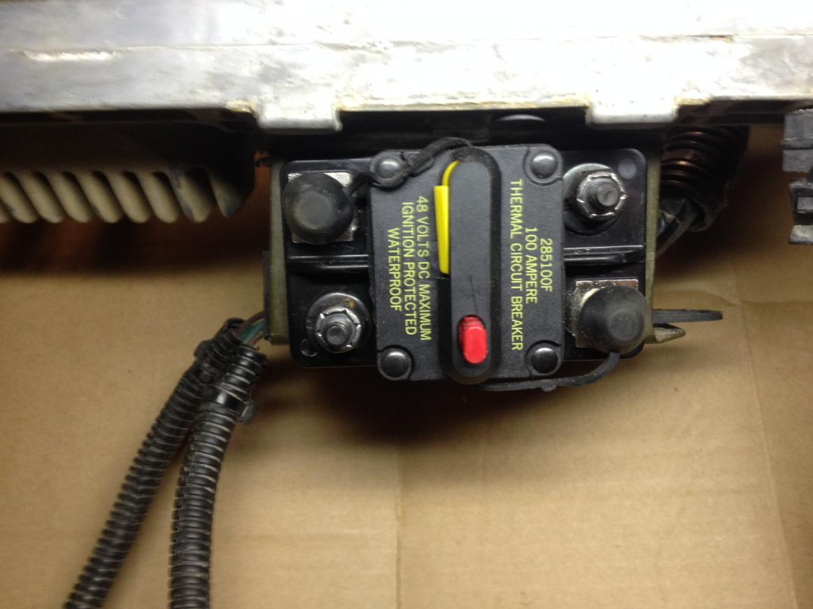 winch circuit breaker install polaris atv forum rh polarisatvforums com Circuit Breaker Panel 100 Amp Circuit Breaker