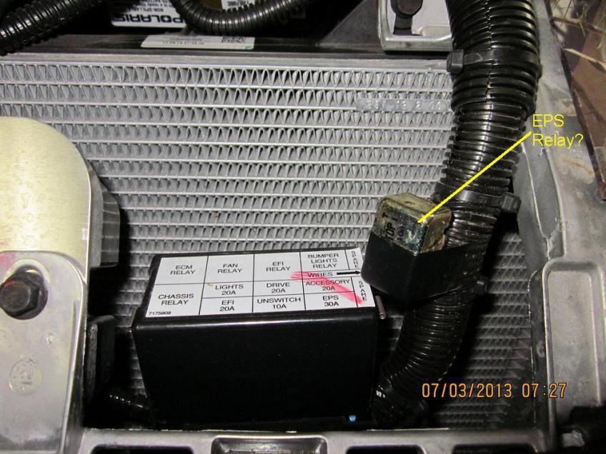 more xp eps questions polaris atv forum rh polarisatvforums com Polaris Ranger Parts Diagram 2010 Polaris Ranger Wiring Diagram