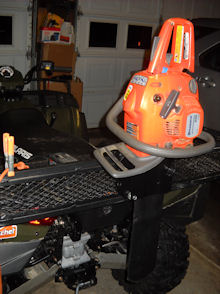Side By Side Atv >> Coleman ATV Chainsaw Mount for $6.88 - Page 2 - Polaris ATV Forum