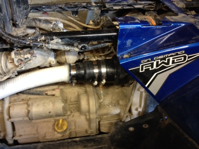 2012 Sportsman 550 Pvt Intake Snorkel Pics Polaris Atv Forum