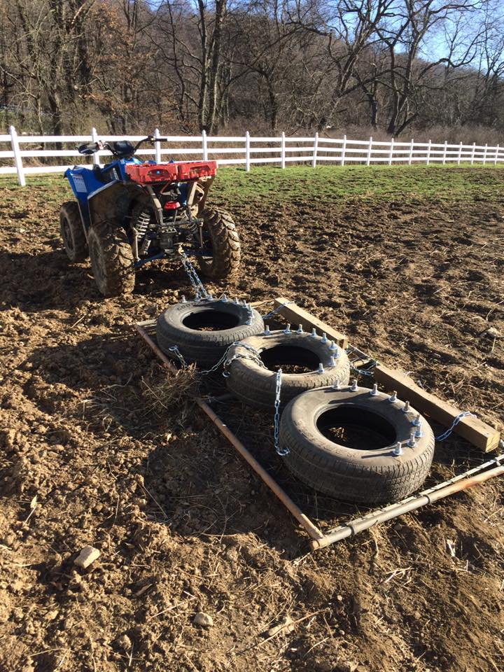 Truck Fender Flares >> home made pasture/grass drag - Polaris ATV Forum