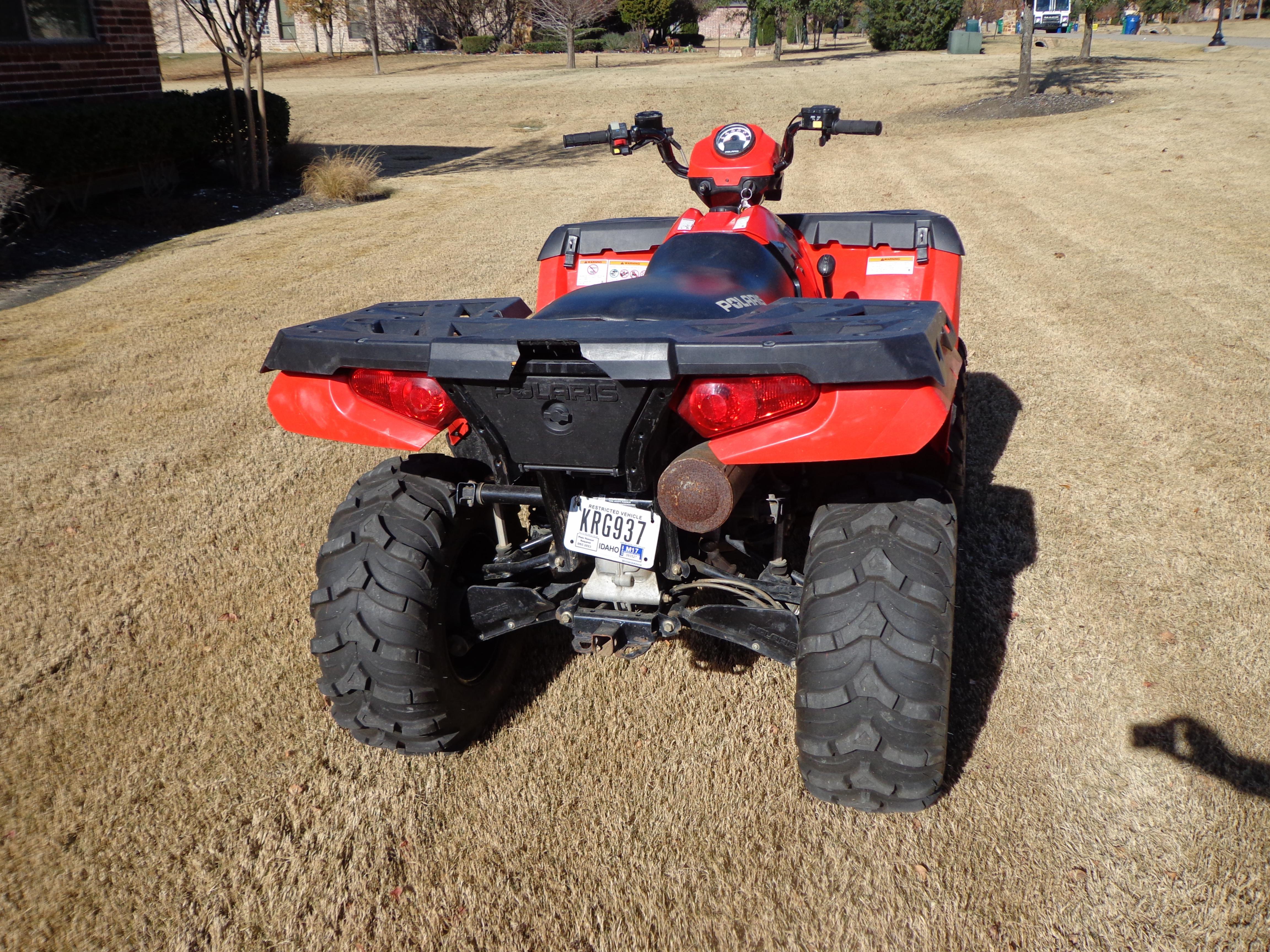 Polaris Sportsman 400 >> 2012 Sportsman 400 AWD - Polaris ATV Forum
