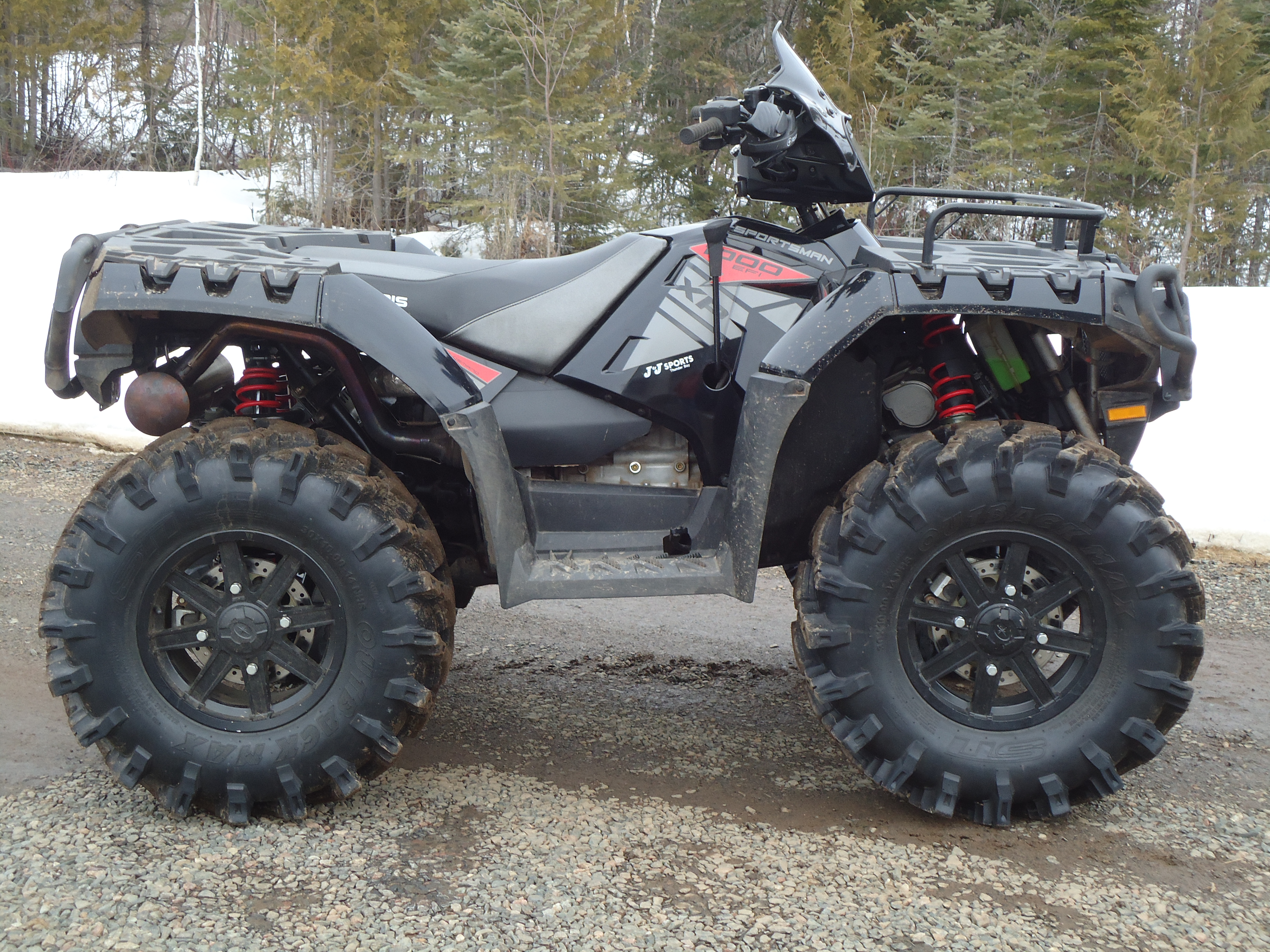 Lift Kit on a Sportsman 850/1000??? - Page 4 - Polaris ATV ...