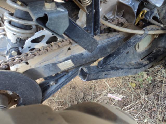 Polaris Trailblazer 250 >> Broken Frame - Polaris ATV Forum