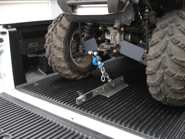How Do You Secure Your Polaris In Truck Bed Polaris Atv
