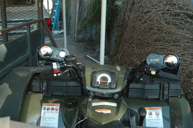 Koplin Hand Guards With Mirrors Hidden Bonus Polaris