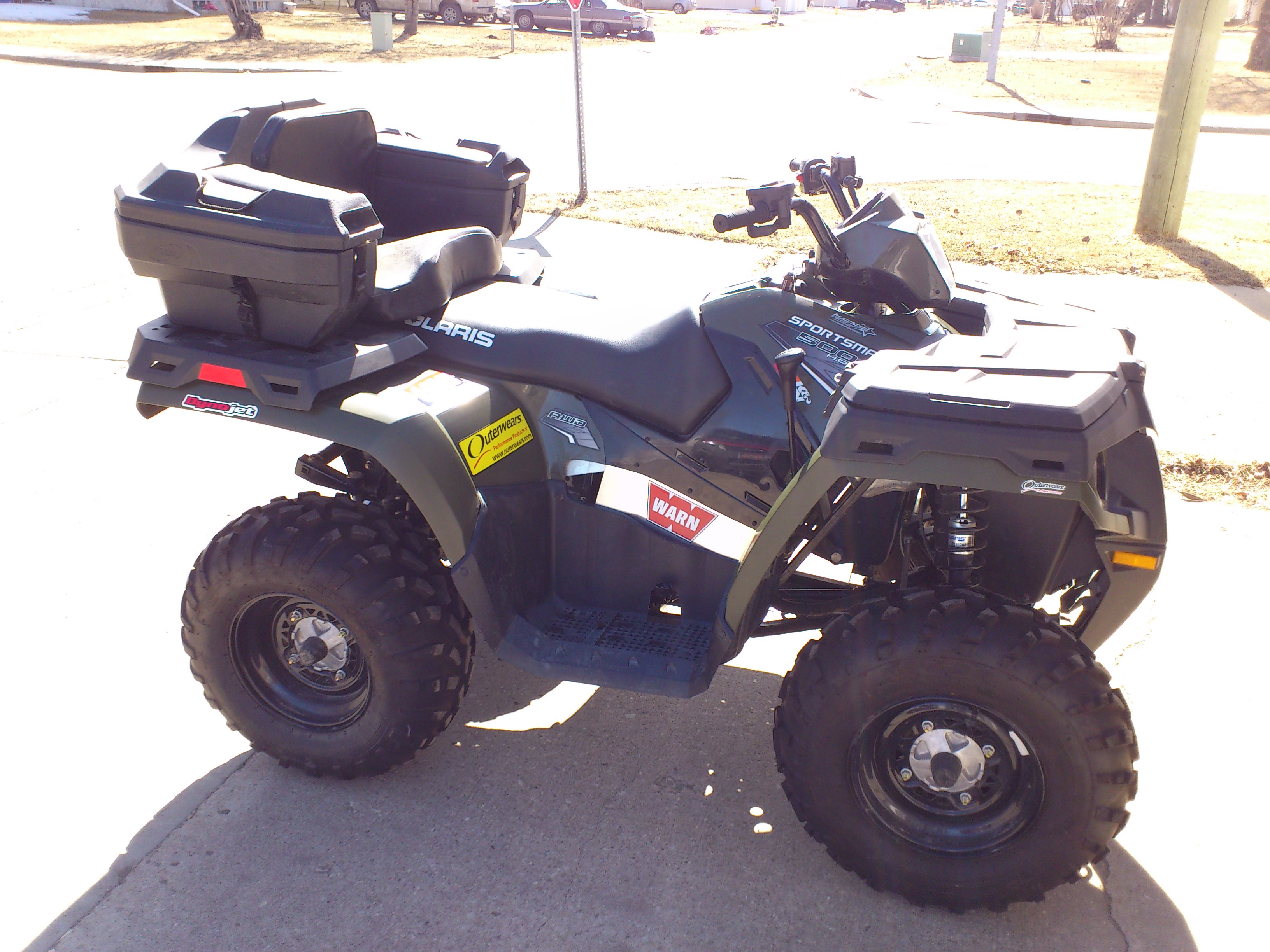 Hot Exhaust 500 Sportsman Polaris Atv Forum