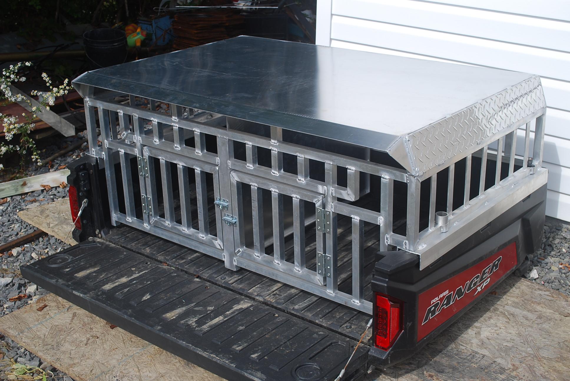 Custom Dog Crate For Ranger Polaris Atv Forum