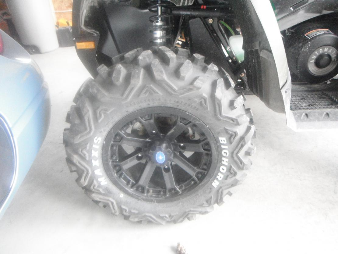 Rims And Tires Canada >> RZR rims and tires on a 500 Sportsman? - Polaris ATV Forum