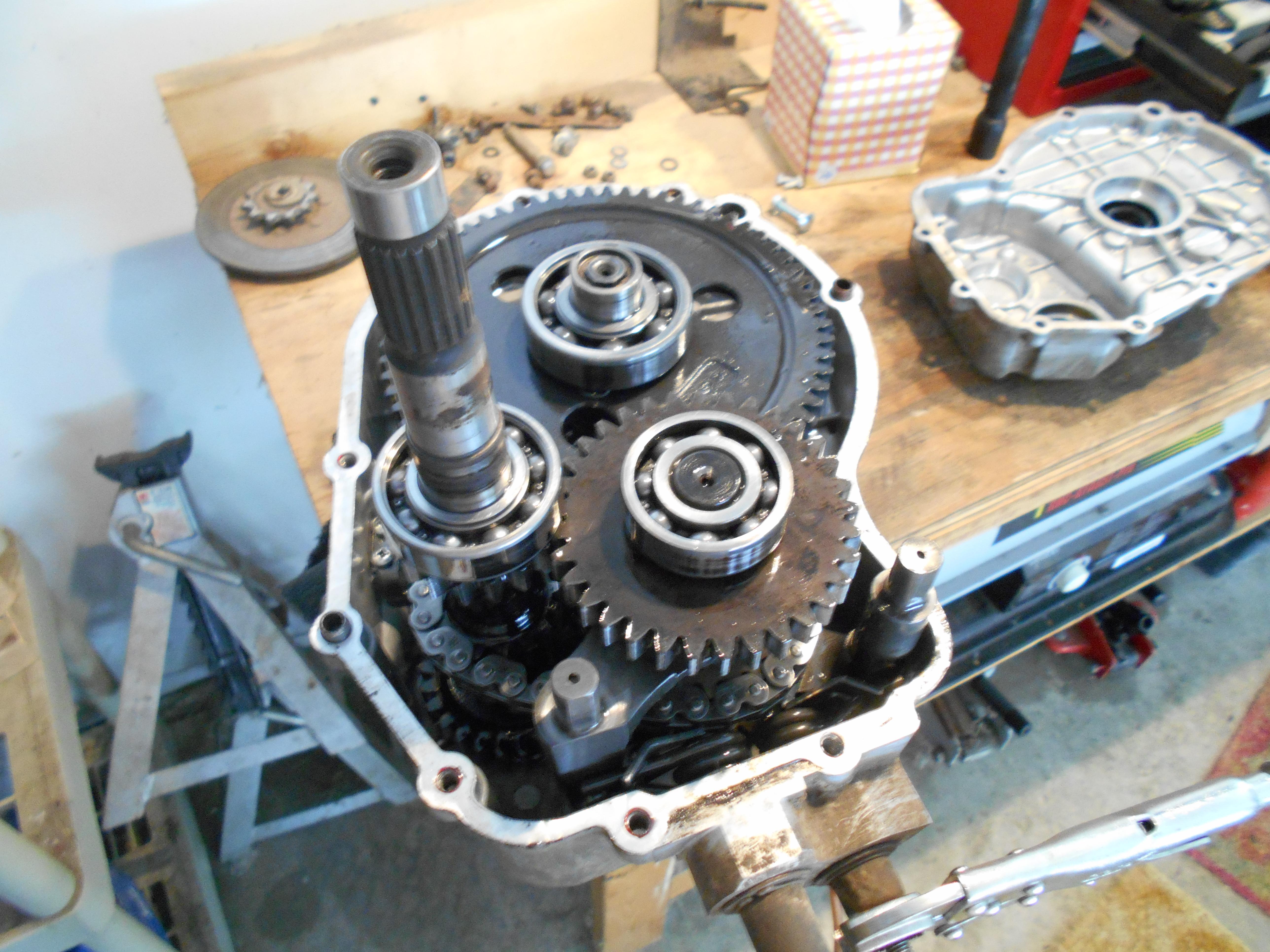Polaris Magnum 425 >> 95 polaris magnum 4x4 won't go into hi gear - Polaris ATV Forum