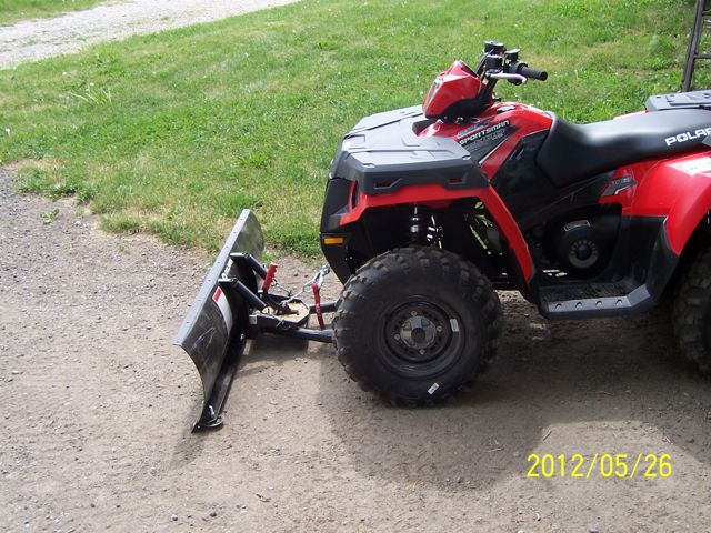 Sportsman 400 Ho Plow Polaris Atv Forum
