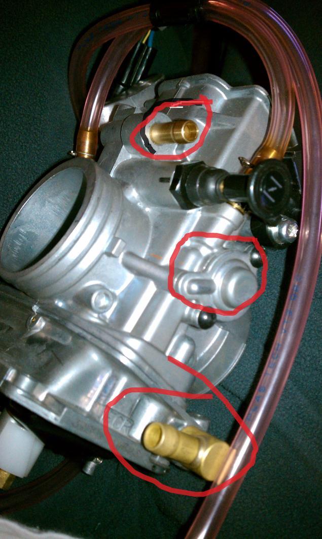 FCR Carb Install   help please! - Polaris ATV Forum