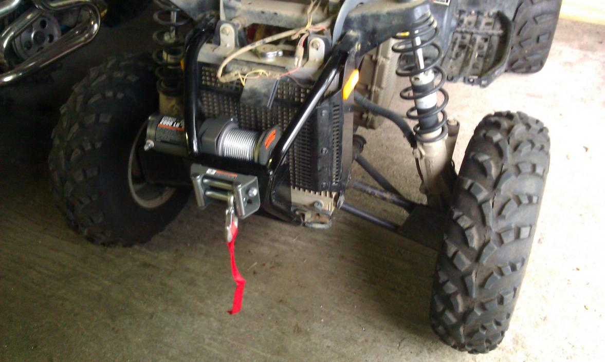 Polaris Scrambler 500 Winch Mount 2002 Sportsman Wiring Diagram Looking For Pics Of On Page 4 Atv Forum