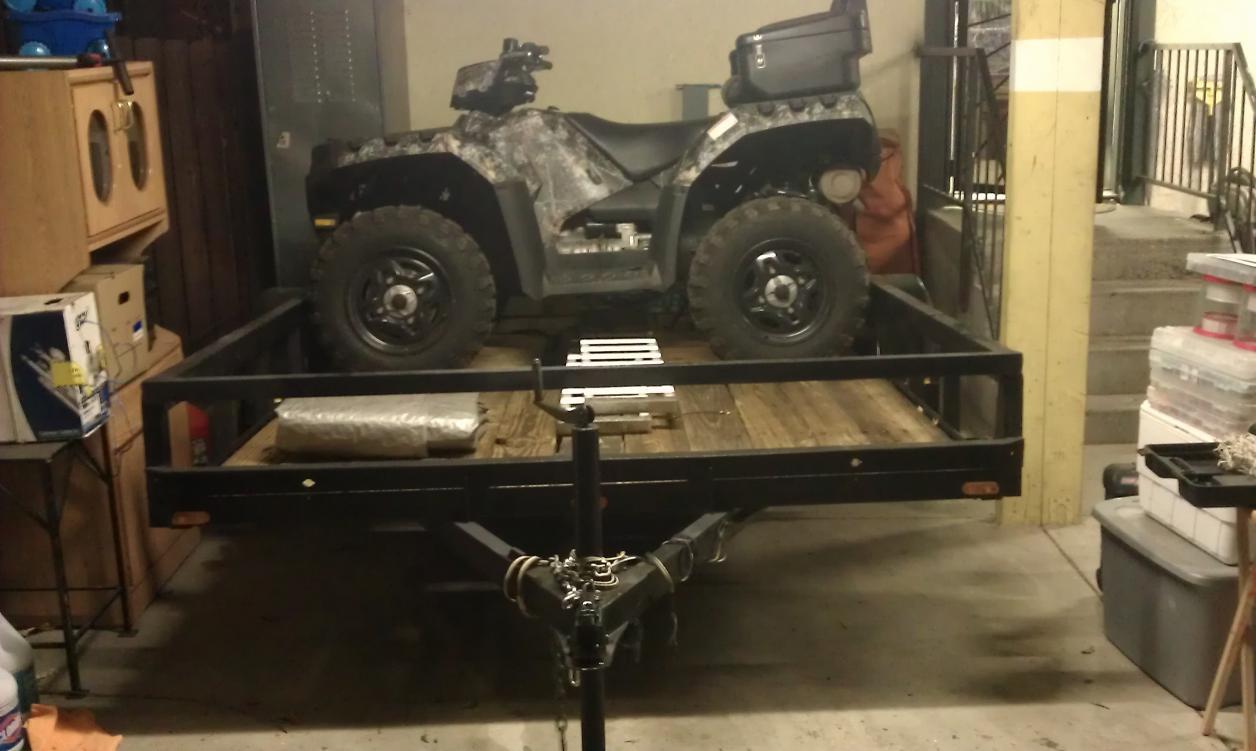 Aluminum Atv Ramps >> Atv/ utility trailers - Polaris ATV Forum