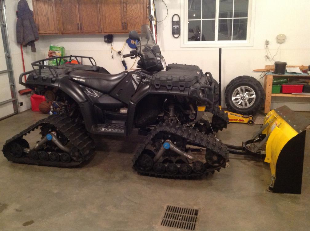 Tracks And Plow Polaris Atv Forum
