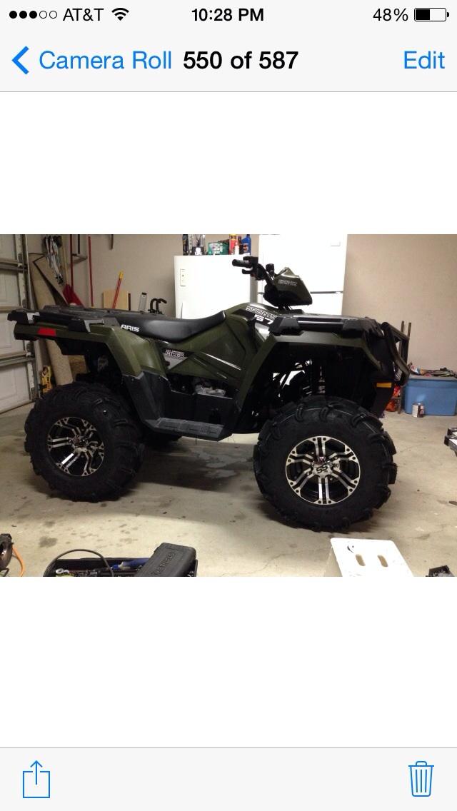 Side By Side Atv >> best way to lift 2014 polaris sportsman 570 - Polaris ATV ...