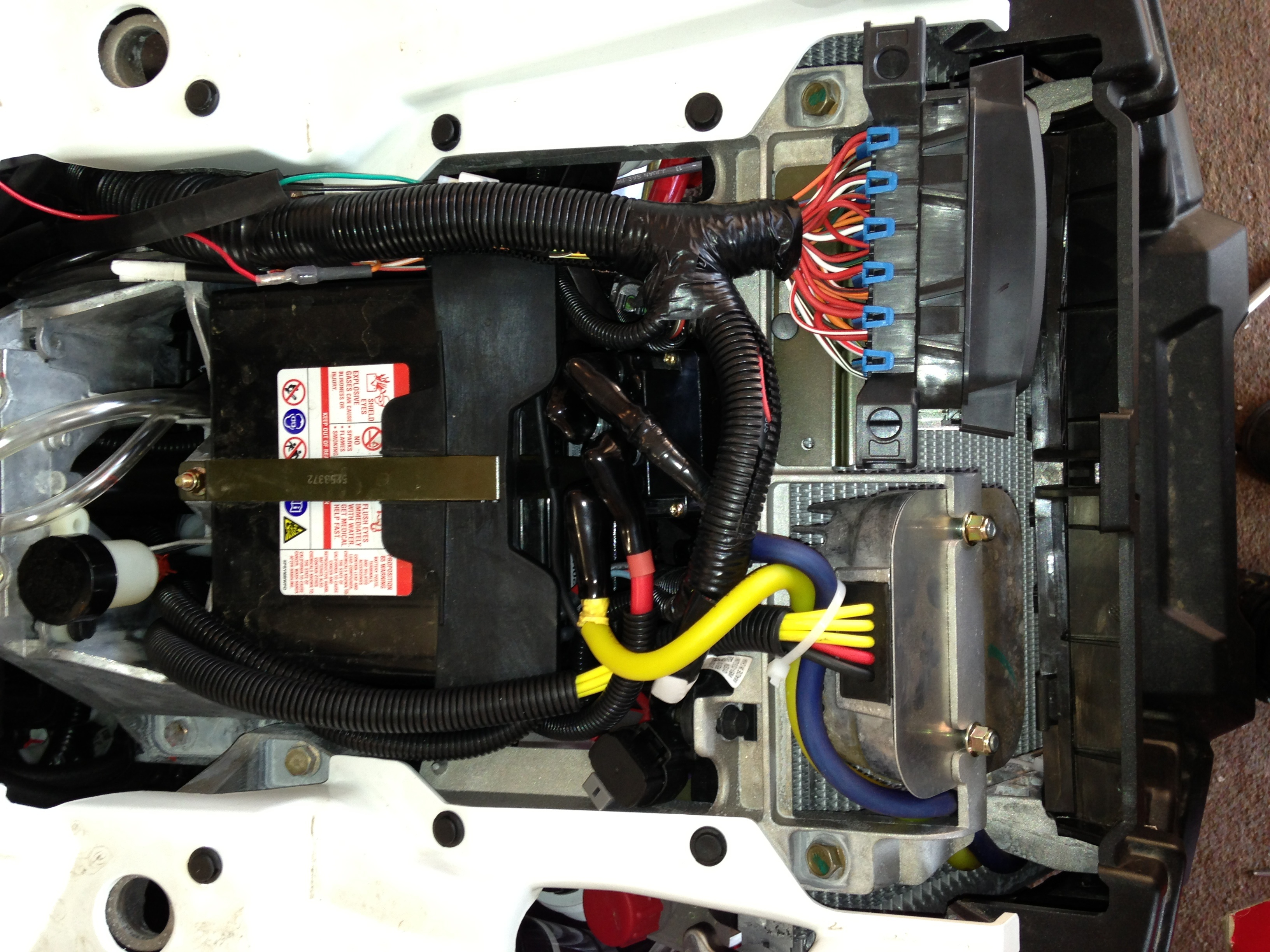 Polaris Hd 3500 Winch Install  Please Help