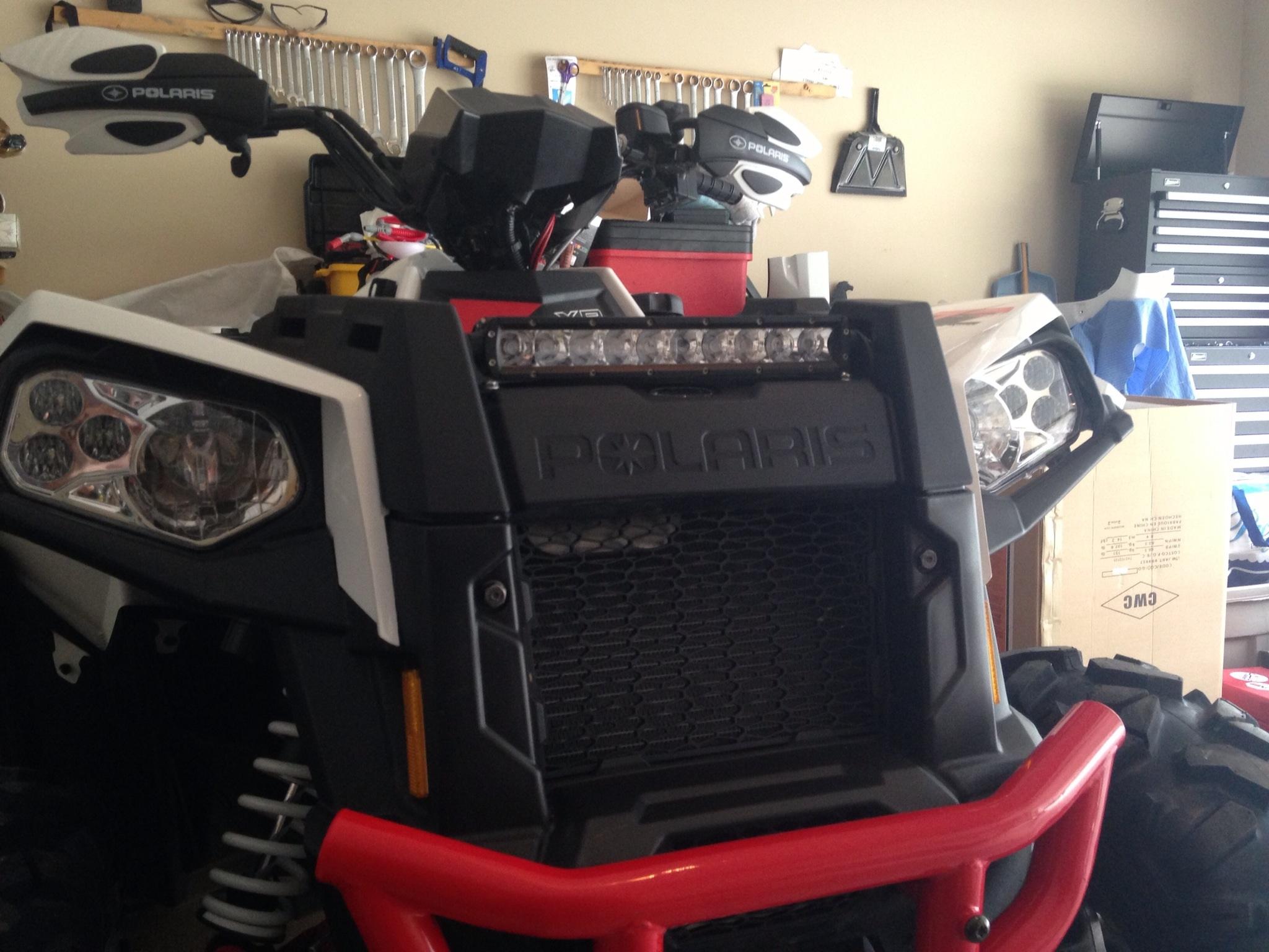 My new LED light bar - Polaris ATV Forum