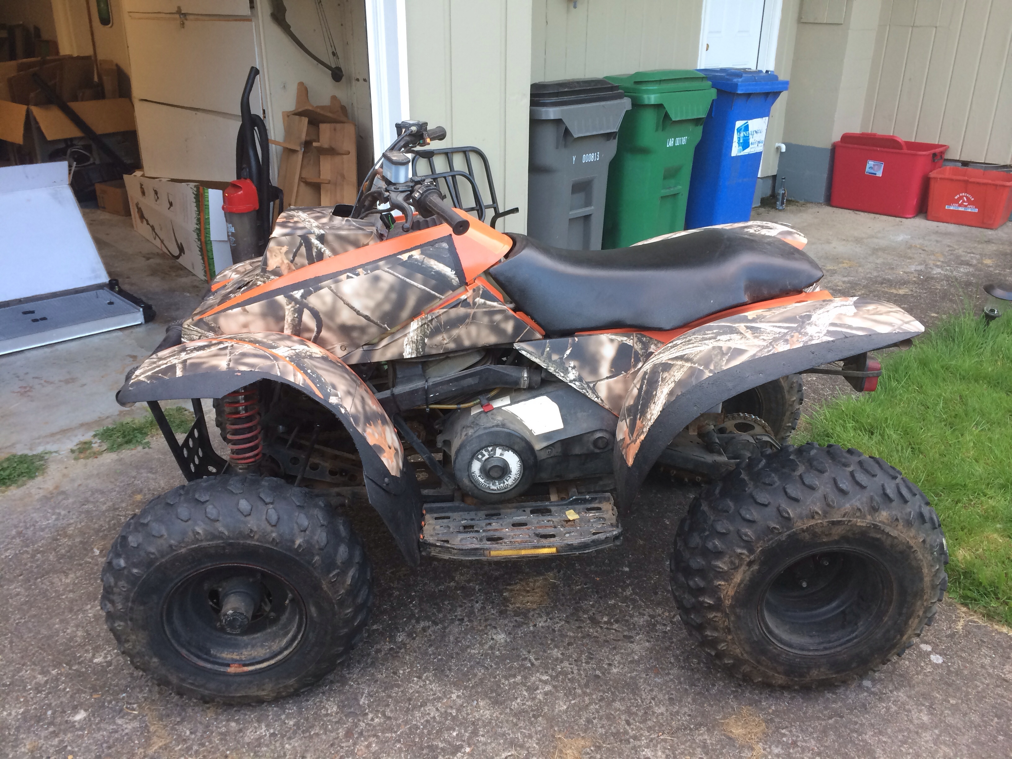 How to find the year of a polaris atv