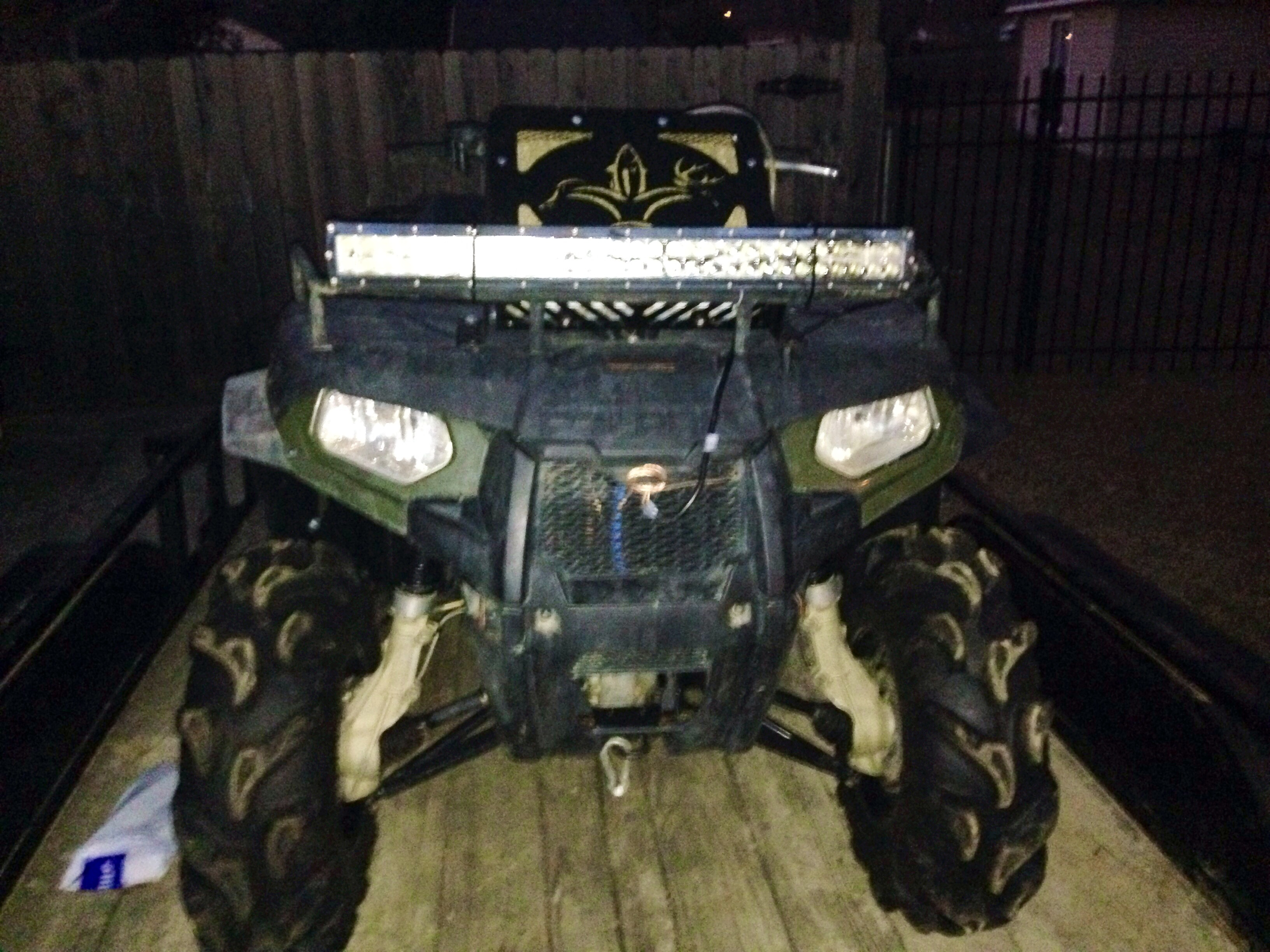 Show me how your light bar is mounted - Page 4 - Polaris ...
