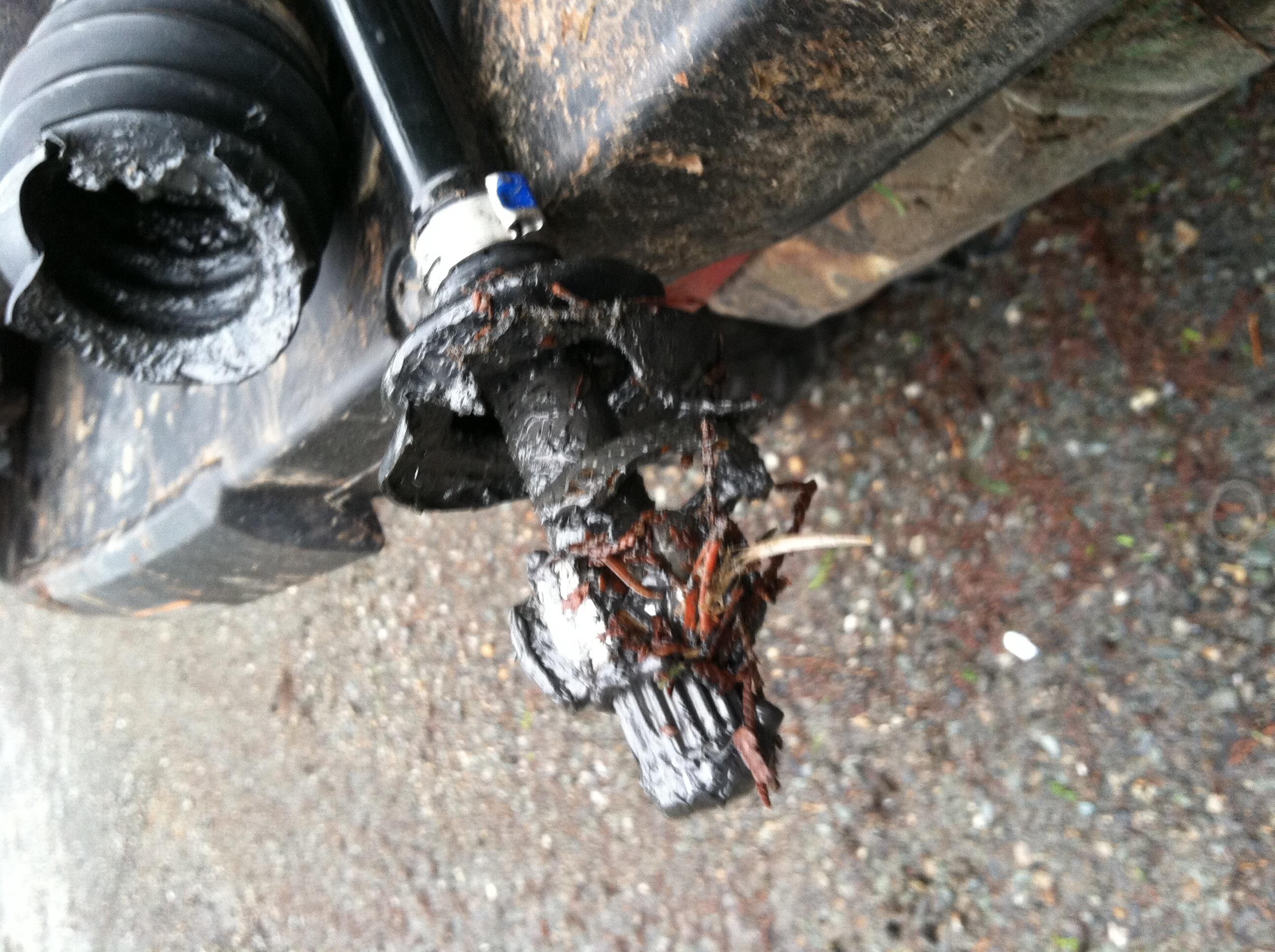 Broken axle - Polaris ATV Forum
