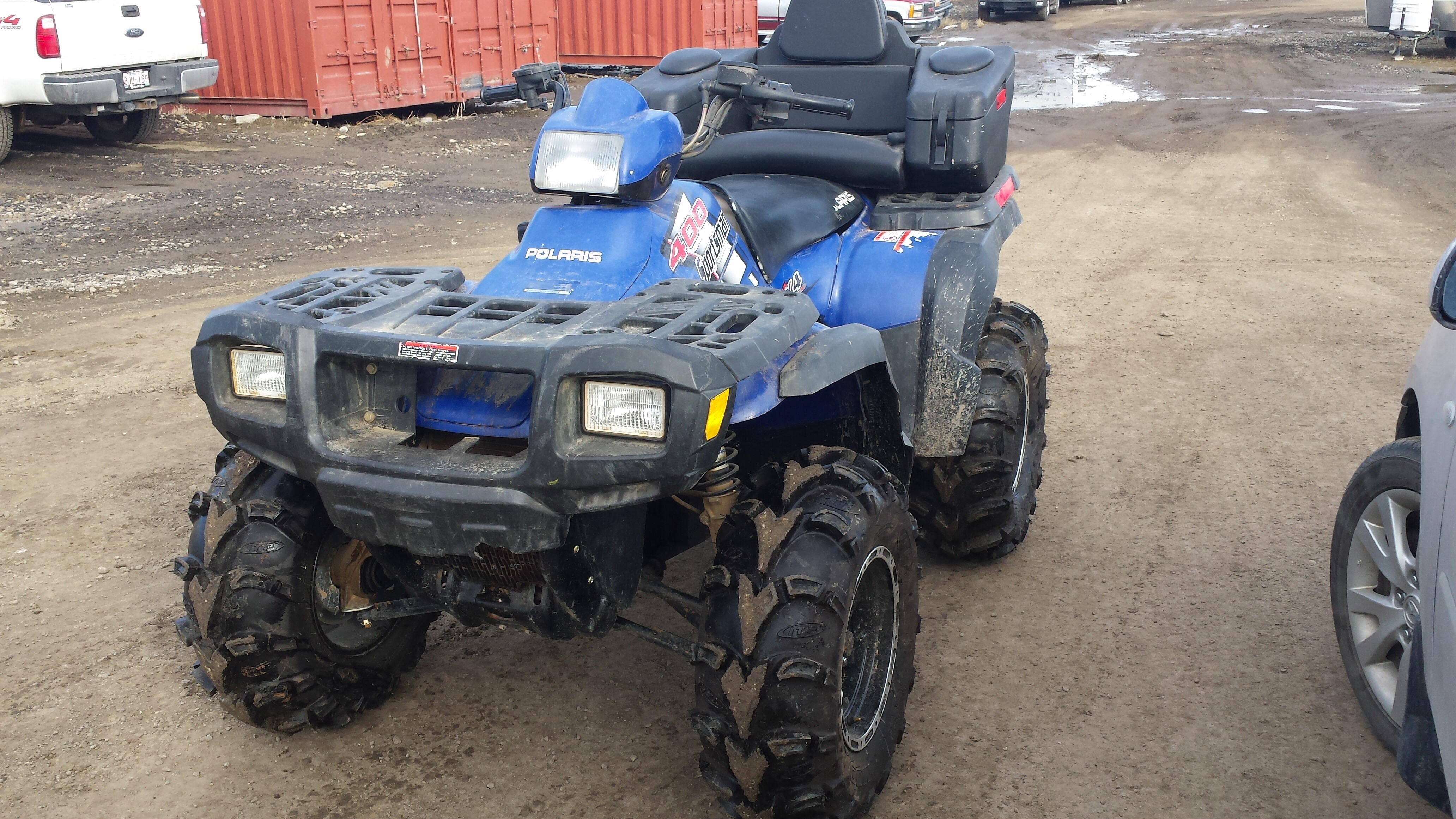 Looking to get into the game with a 2004 Sportsman 400 - Polaris ATV ...