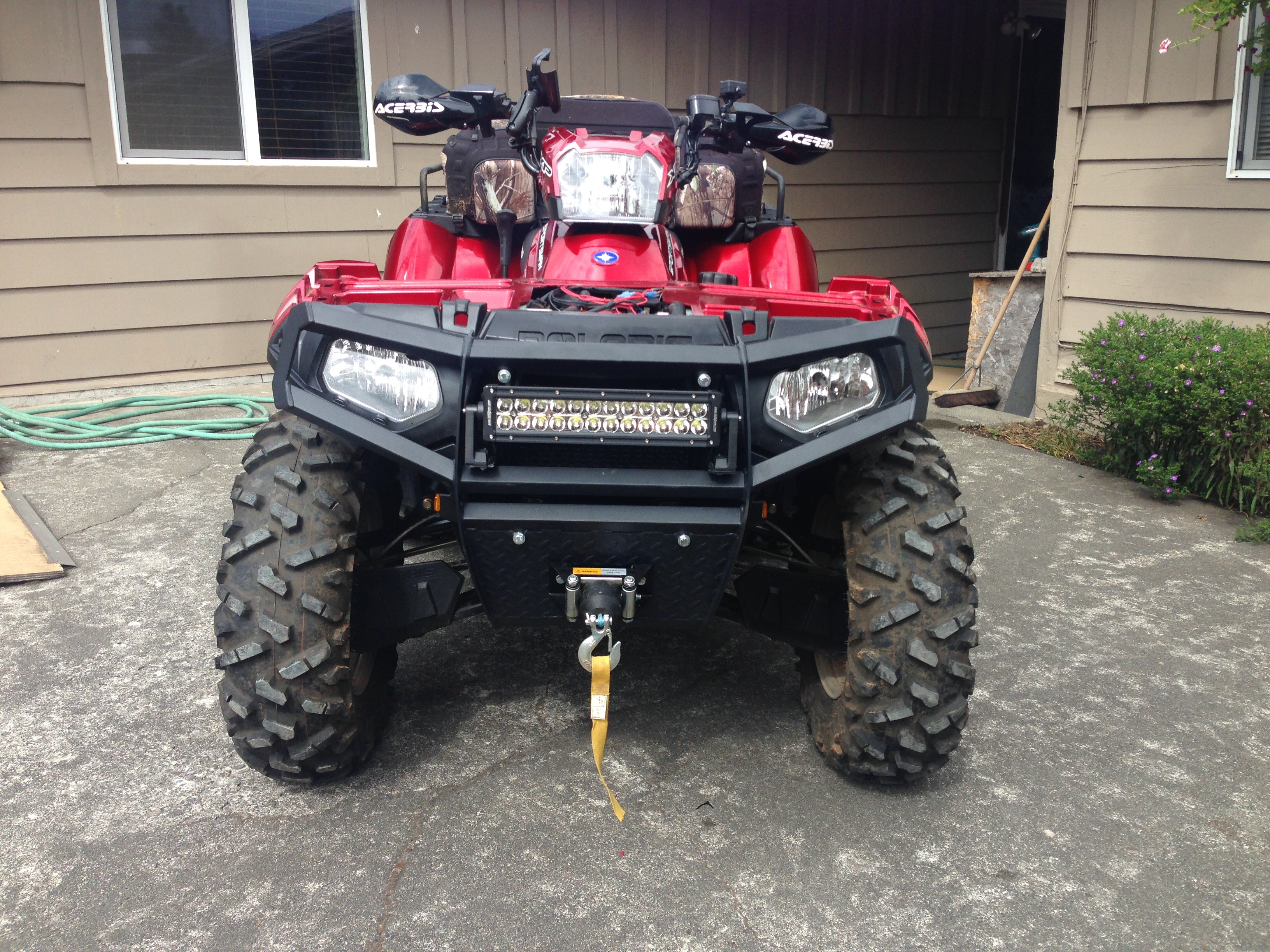 Led Light Bar Polaris Atv Forum