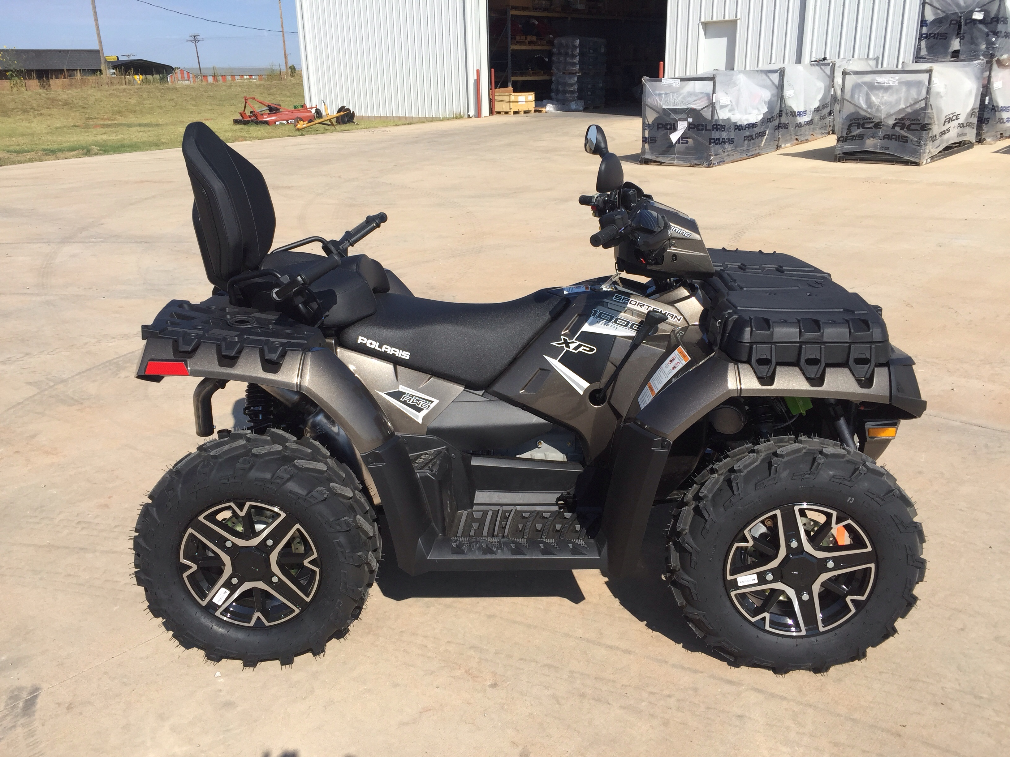 bought a new 2015 polaris sportsman 1000 touring polaris atv forum. Black Bedroom Furniture Sets. Home Design Ideas