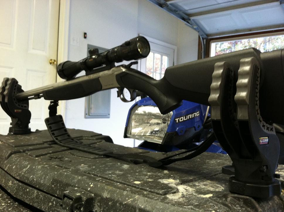 Gun Rack On The Front Box Polaris Atv Forum