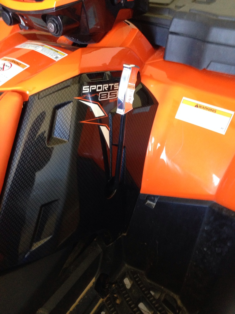 Polaris Sportsman 400 >> Lets see your Custom and Aftermarket Shifters - Page 17 ...