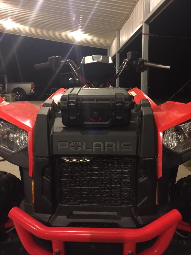 Polaris Scrambler 850 >> 2014 scrambler 1000 front rack removal storage - Polaris ...