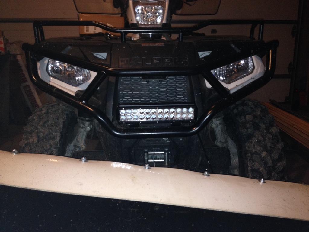 Help! LED Light Bar Install - Page 3 - Polaris ATV Forum