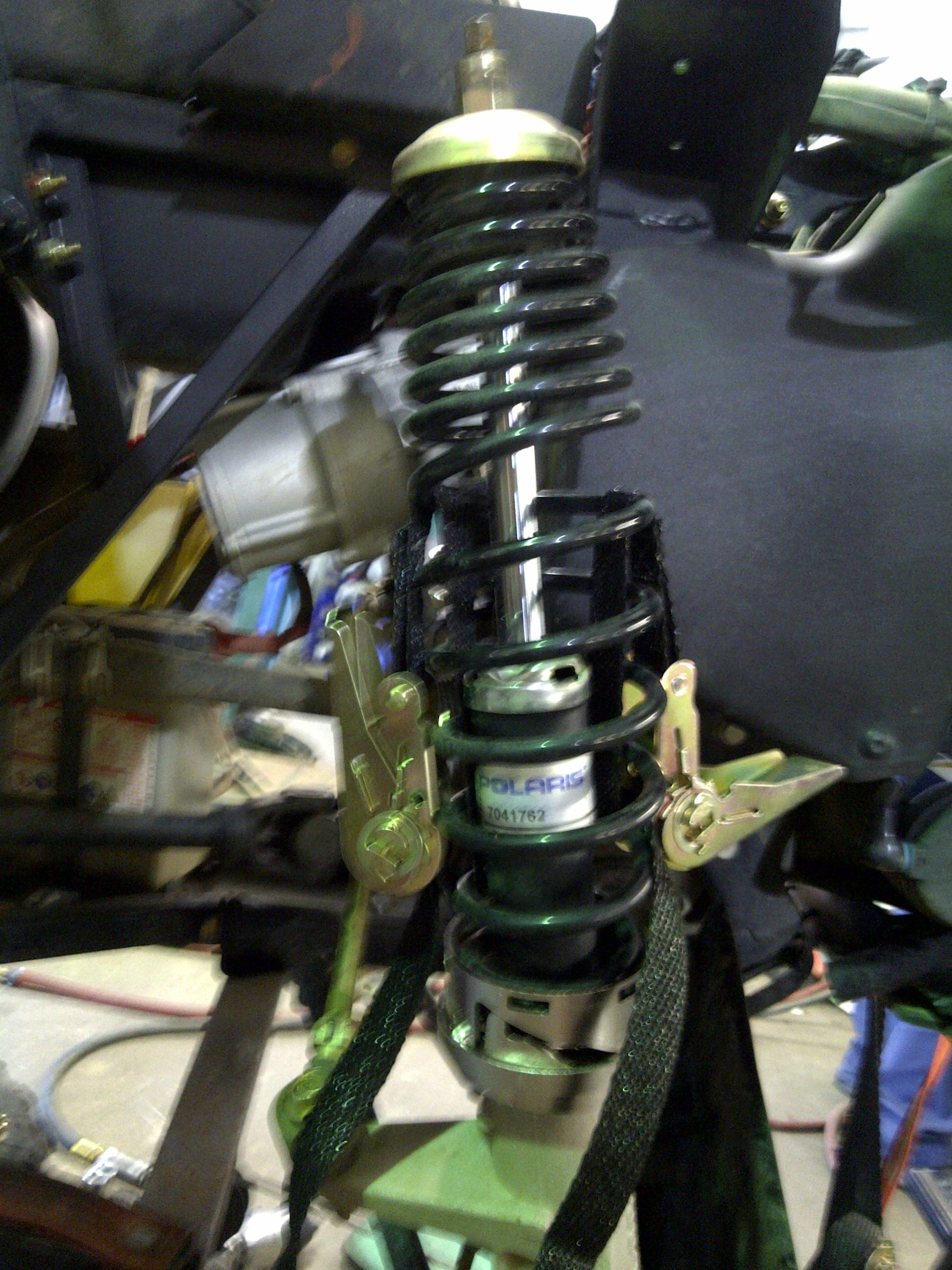 Improved My Handling By Modified My Front Suspension For A
