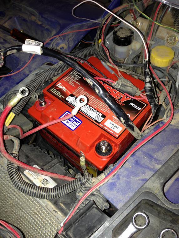 Polaris Com Atv >> Battery for 850XP - Polaris ATV Forum