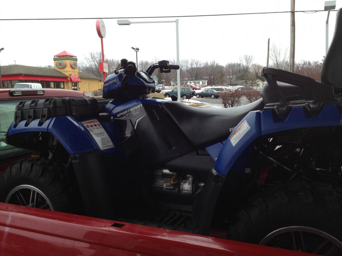 2011 Sportsman Touring 550 Eps