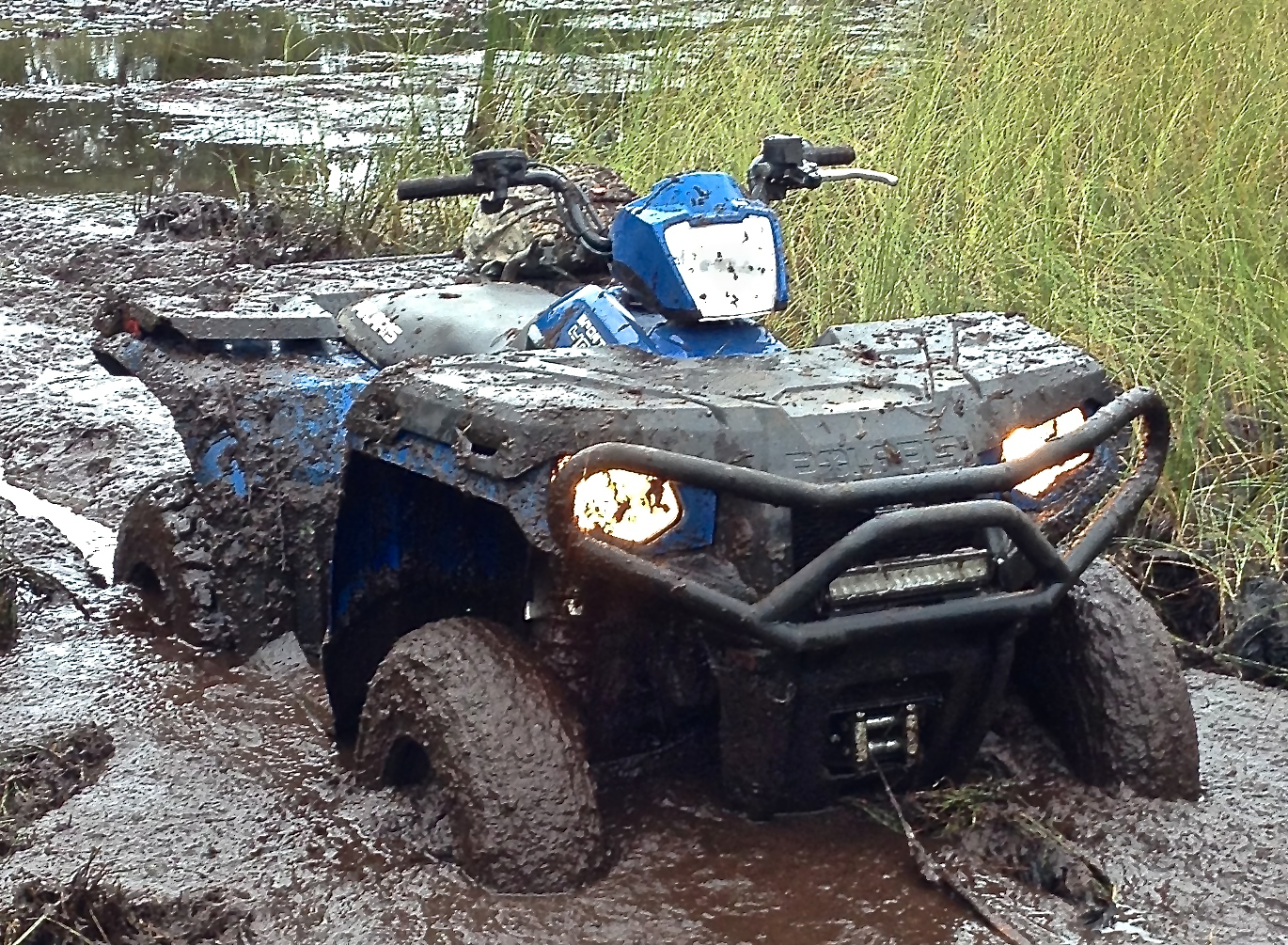 D Refuses Start Cimg as well D Hard Shift Sportsman Wheeler Trany Shifter further D Scrambler Project Pre together with D Polaris Sportsman Winch Install Img likewise D Sportsman Electrical Issue Img. on polaris sportsman 500