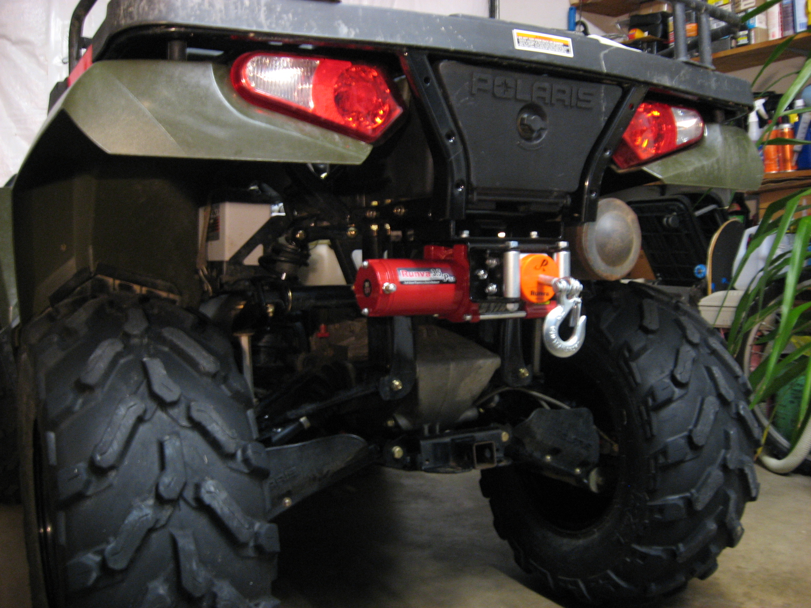 Winch Front Or Rear Page 2 Polaris Atv Forum