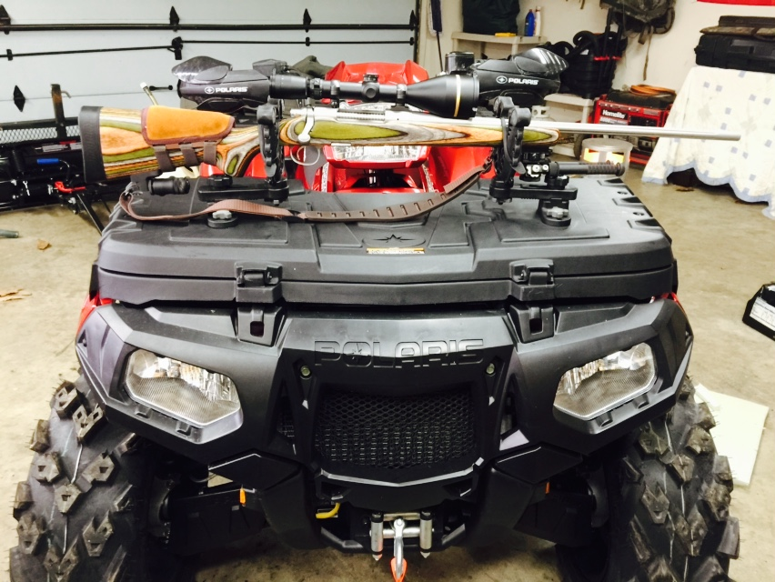 For You Hunters With A Front Storage Box Polaris Atv Forum