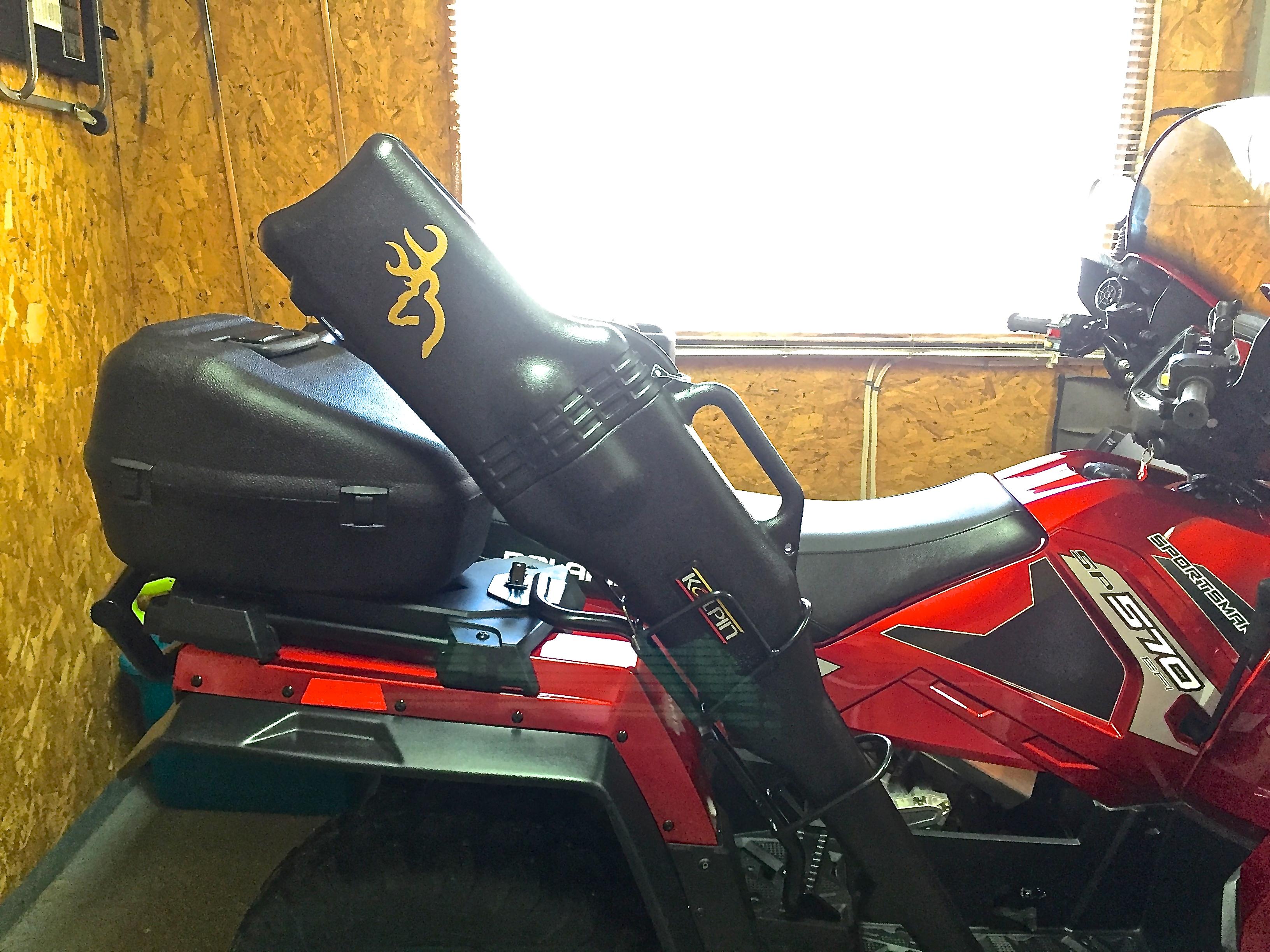 22 Inch Tires >> Gun Scabbard mounts? Not Polaris accessories? - Page 2 - Polaris ATV Forum