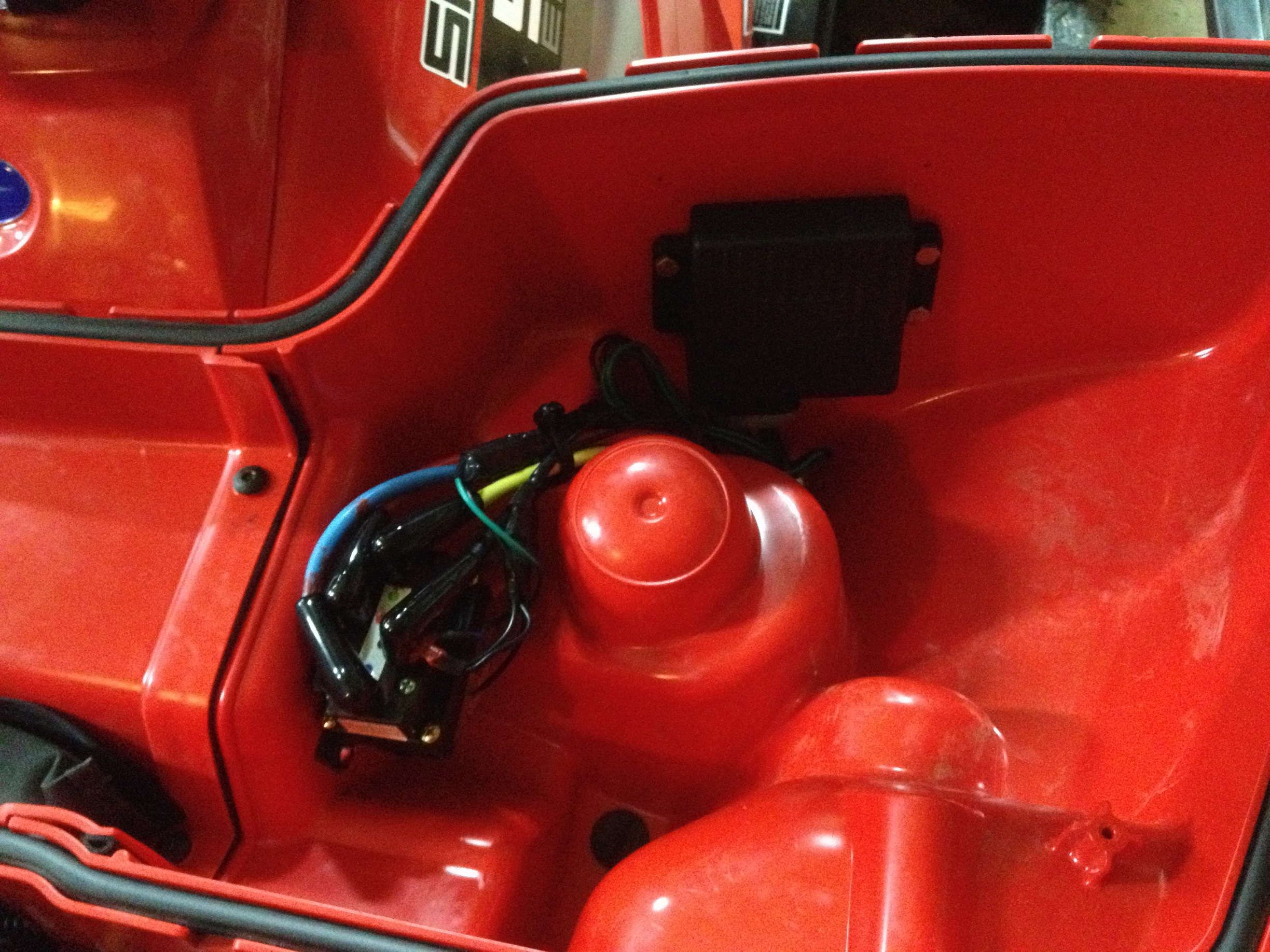 installing superwinch