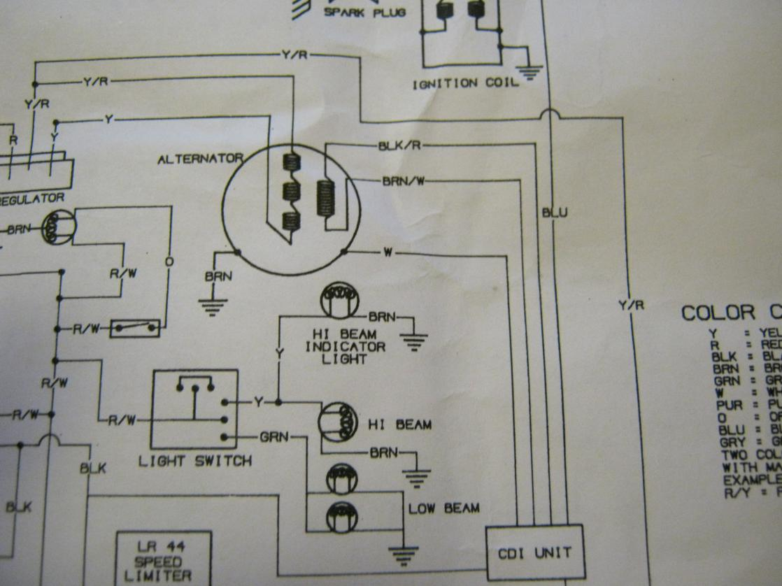 trail boss wiring diagram 7 way trailer plug polaris 350 trail boss no spark - polaris atv forum polaris 330 trail boss wiring diagram