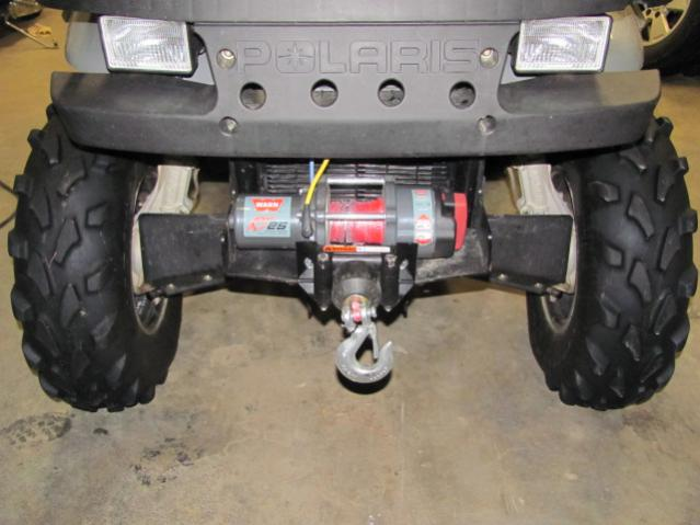 Possible To Get A Gen IV Center Mounted Winch Polaris ATV