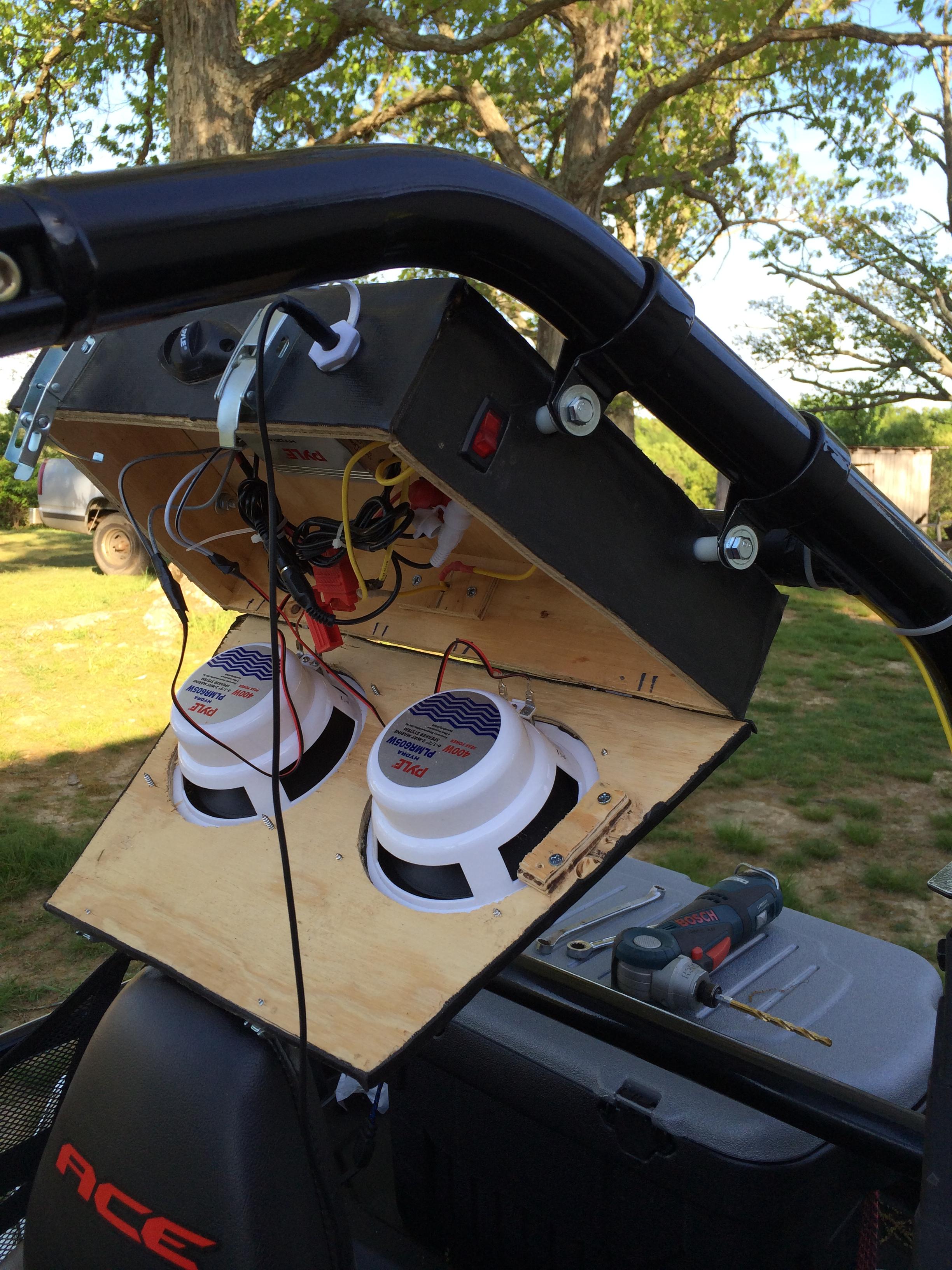Ranger Xp 1000 >> diy stereo - Polaris ATV Forum