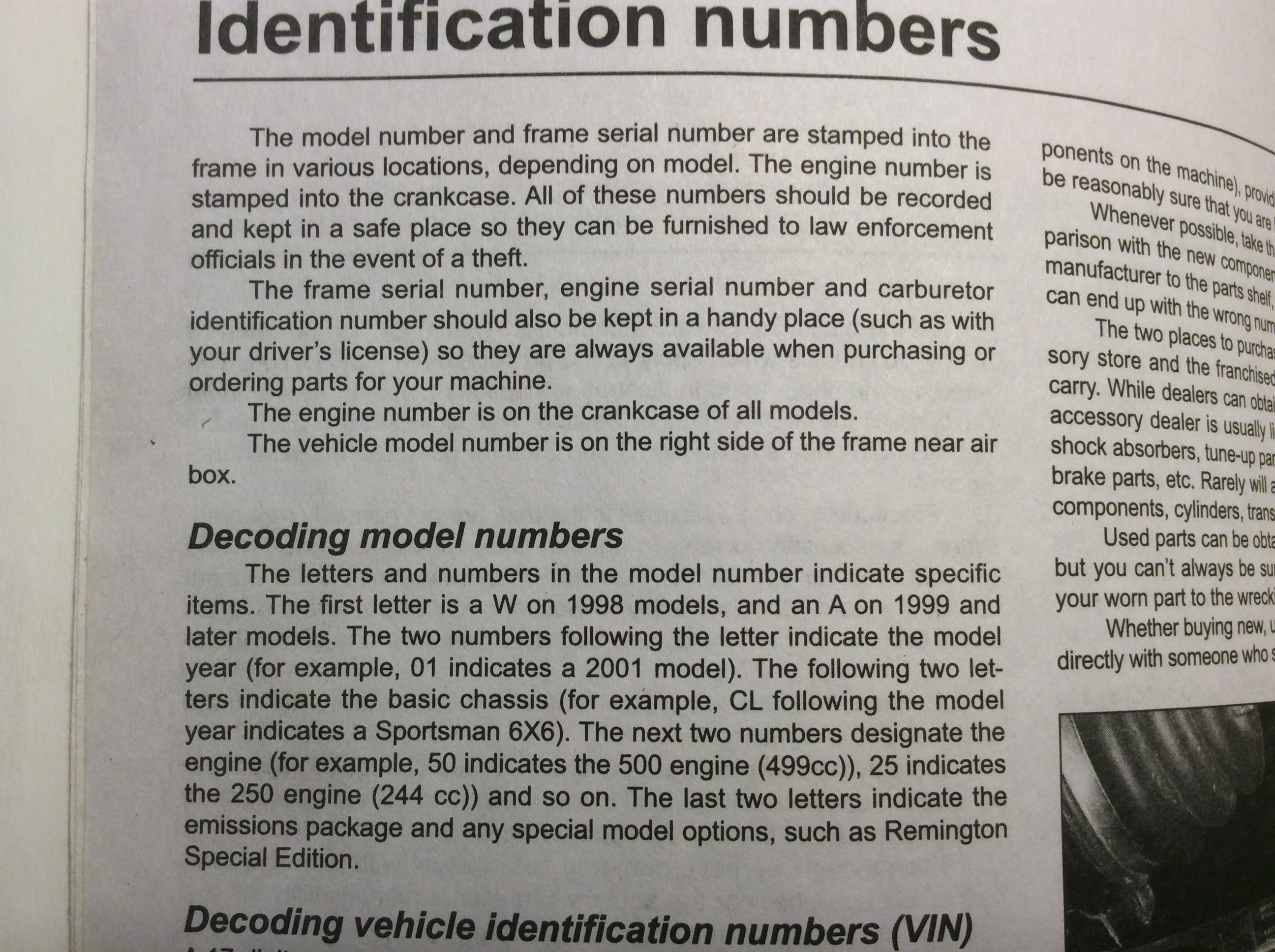 2010 Polaris ranger Vin decoder Vwr