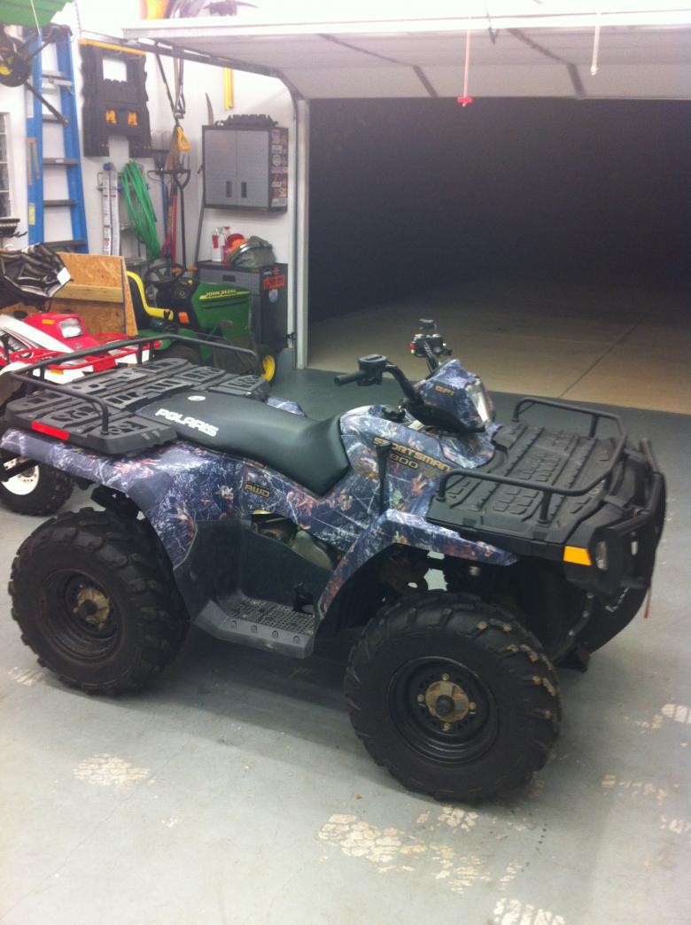 Polaris Atv For Sale >> 2008 Polaris Sportsman 800 EFI CAMO + New Plow - Polaris ...