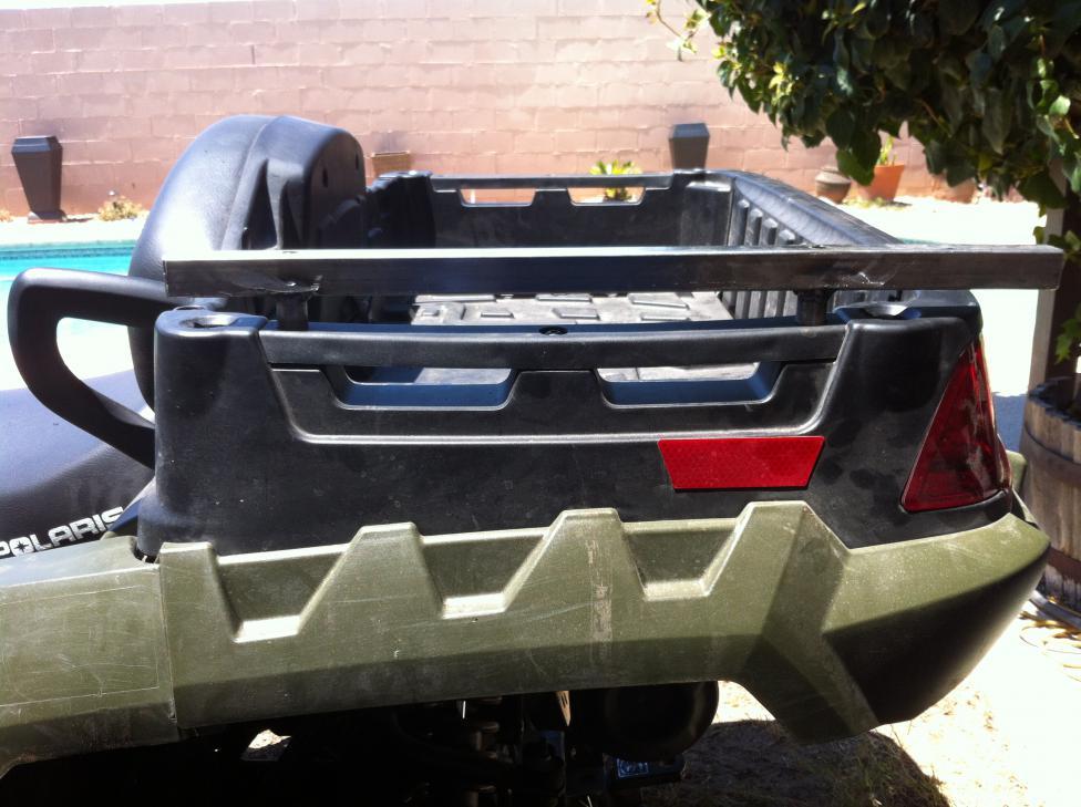 550 X2 With Dump Bed Quot Rails Quot Polaris Atv Forum